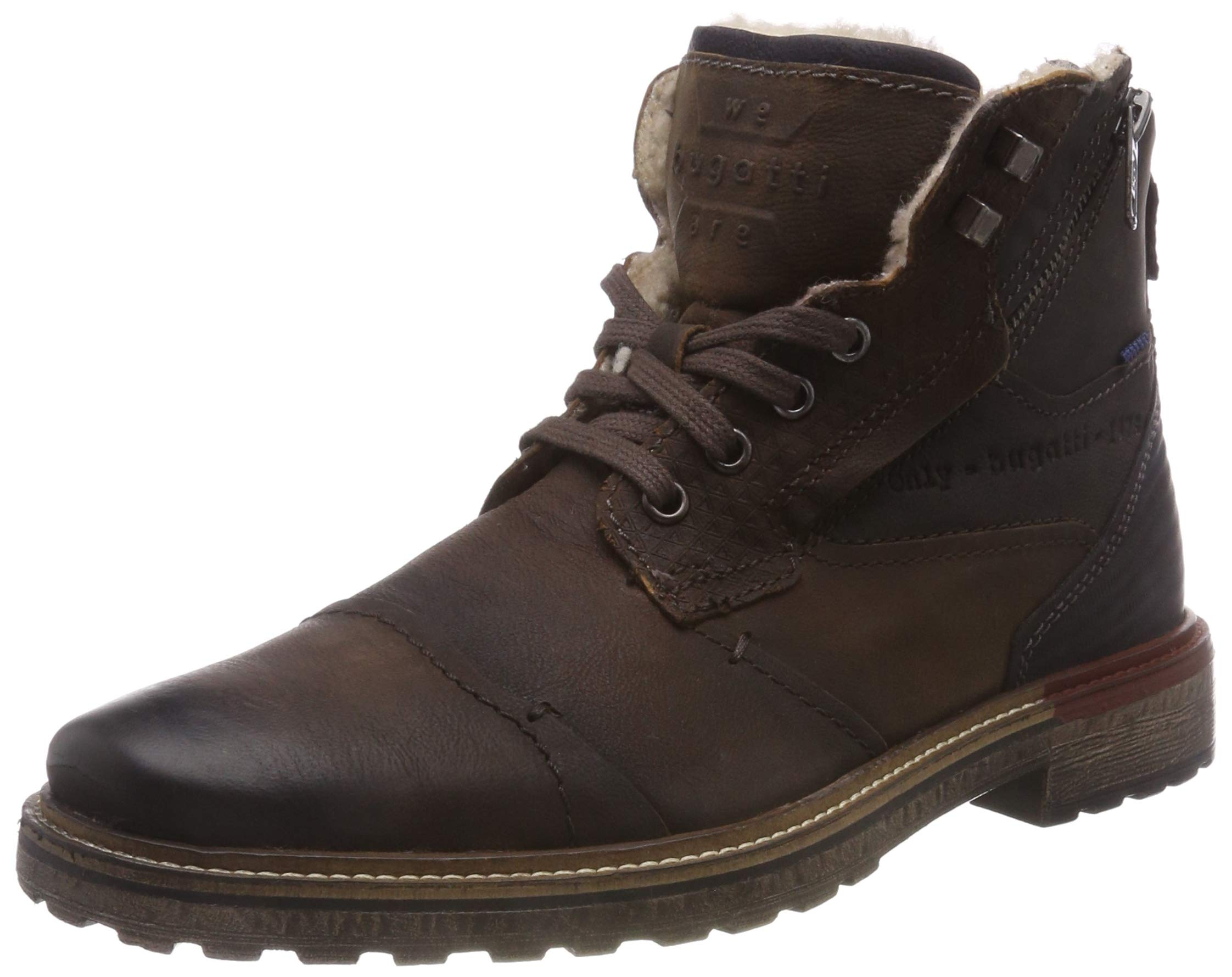 bugatti Herren 311382523200 Klassische Stiefel, Braun, 43 EU MXwX7