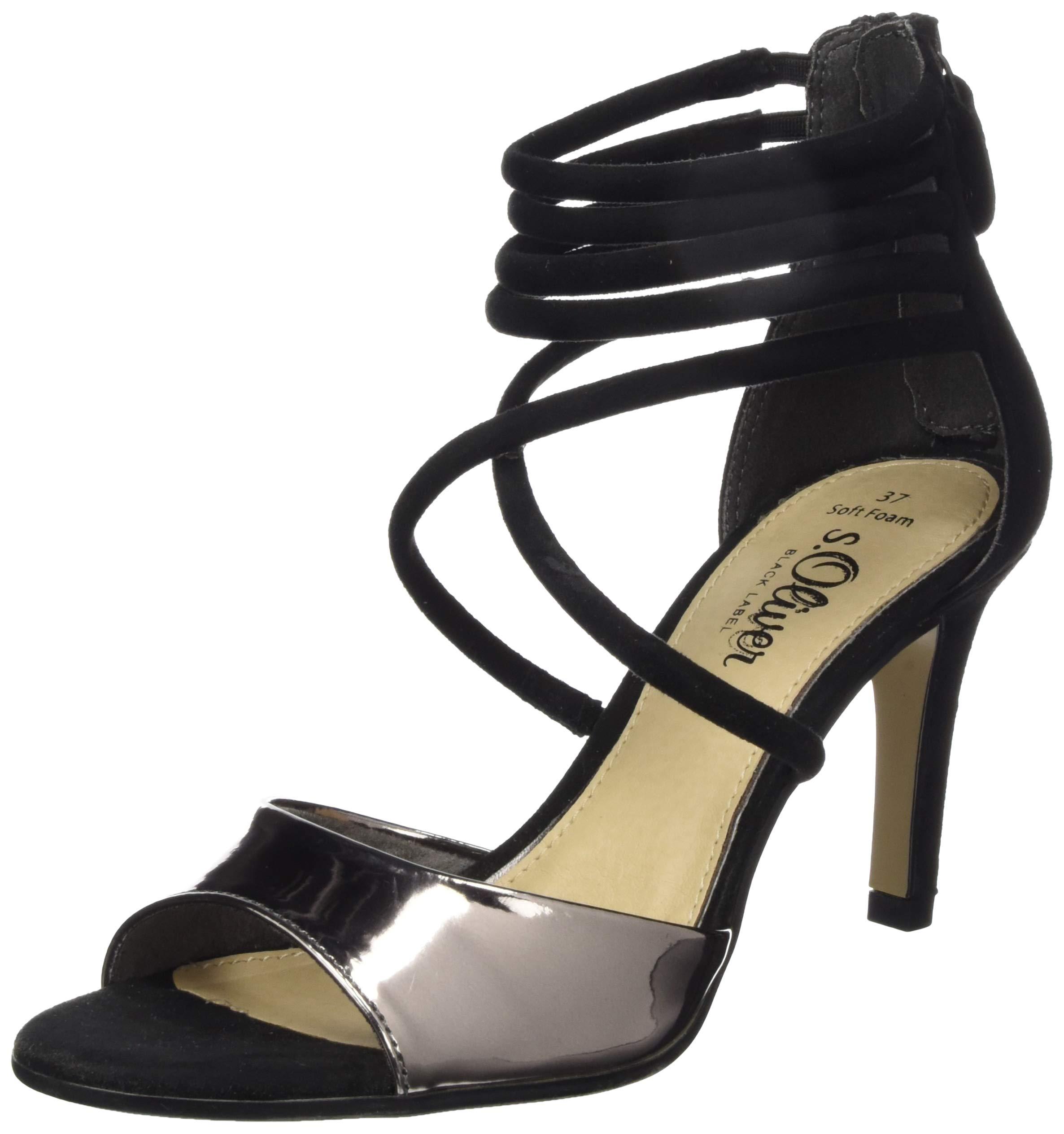 Ecco Damen Shape 65 Block Sandal Offene Toe Sandalen, Schwarz (1001BLACK), 39 EU
