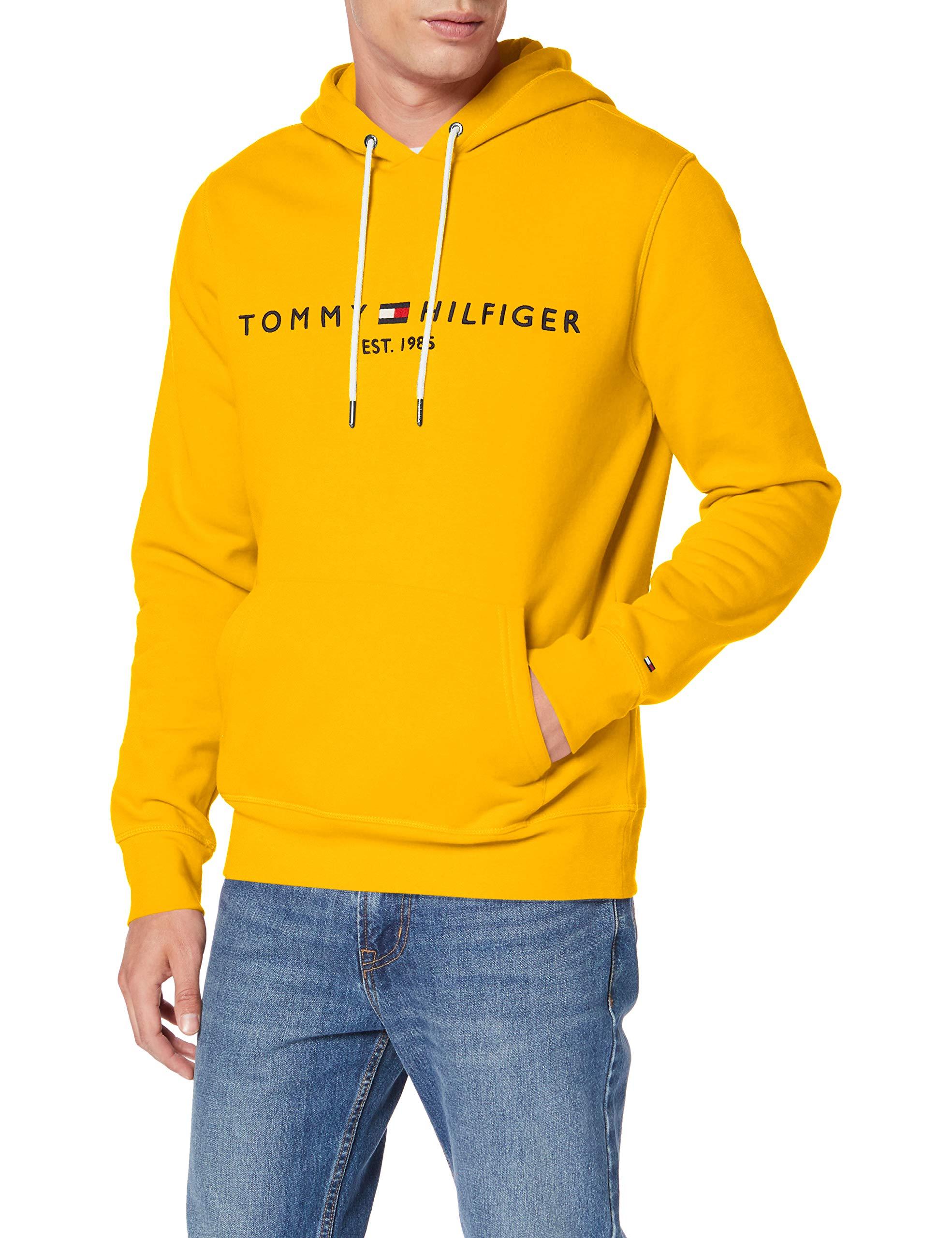 tommy hilfiger hoodie gelb