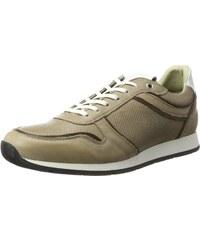 Herren Allwetter Aquastop Sneaker Rindsvelours Avena Grau vwmN8n0O