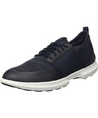 Geox Herren U Keilan B Sneaker, Schwarz (Black), 41 EU