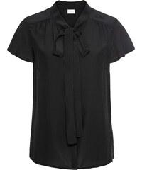 fb3b271130de1e BODYFLIRT Bluse mit Pailletten langarm in schwarz von bonprix - Glami.de