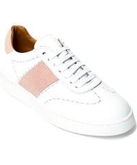 Buffalo Classic London weiß Gr. 36 Leder Plateau Sneaker in