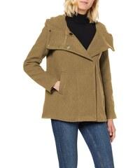 ESPRIT Damen 109Ee1G020 Mantel, Beige (Beige 270