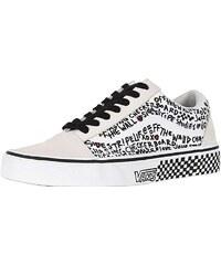 Vans Damen Ward Canvas Sneaker, Schwarz ((Mix Logo) Black
