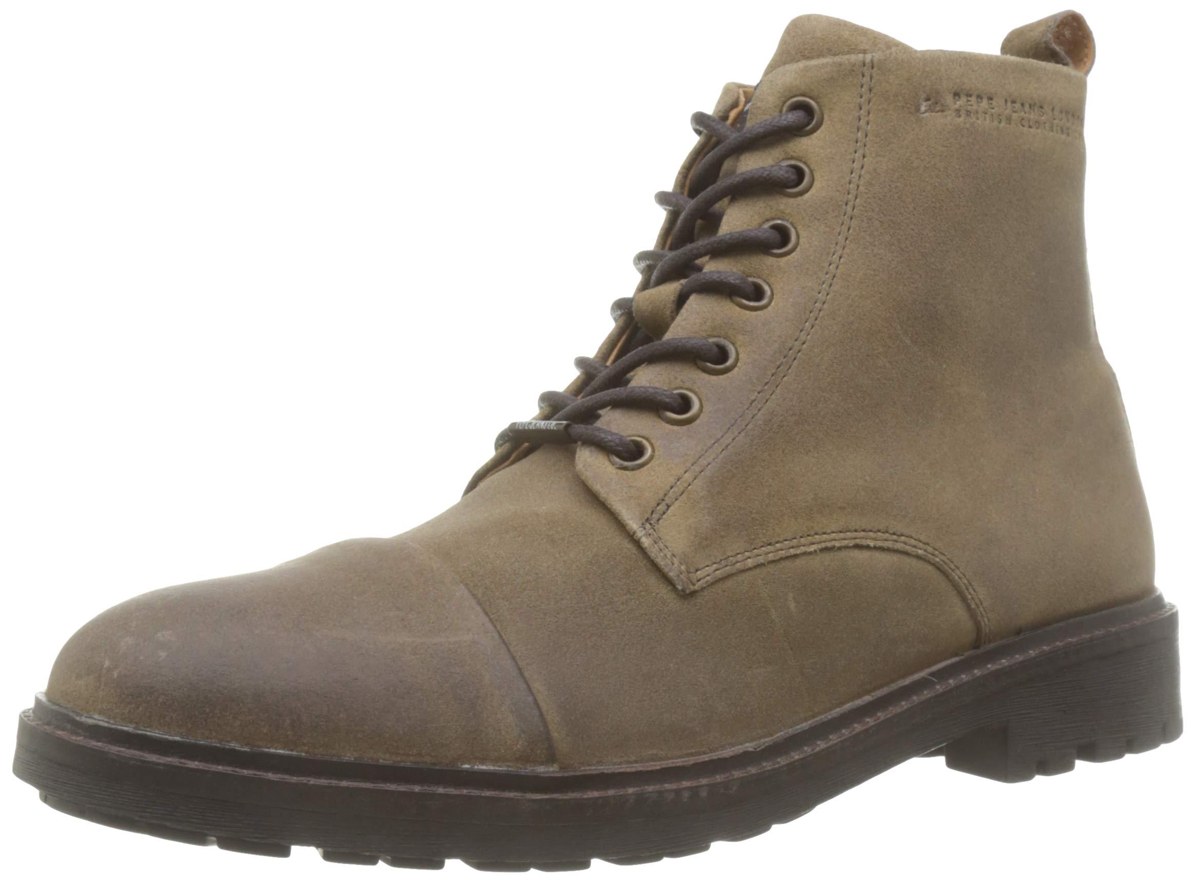 Pepe Jeans London Herren Porter Suede Desert Boots, Braun (Tan 869), 44 EU