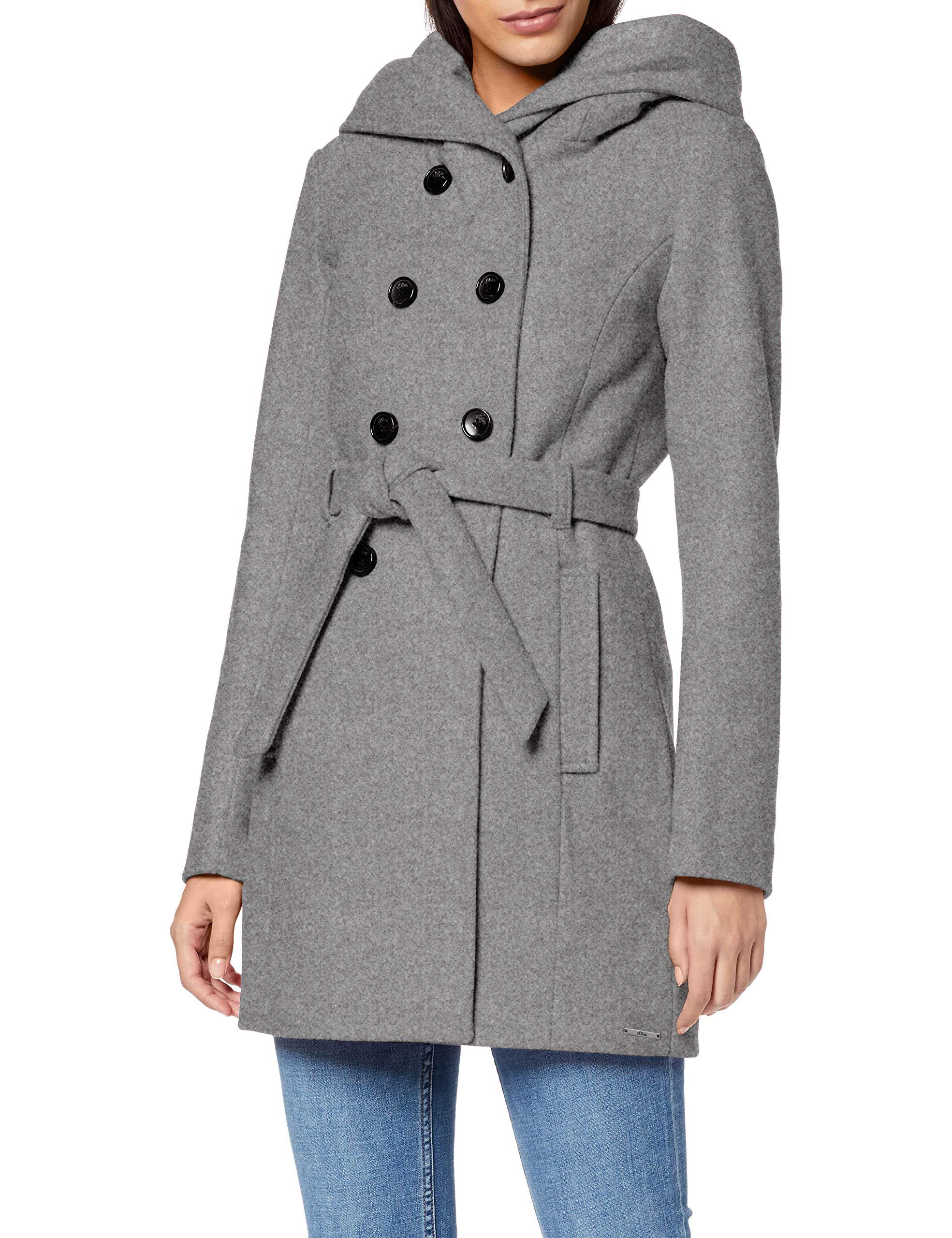 Wool Melange Hechter Damen Mantel Grau Daniel Coat Grey shQdCxBtr