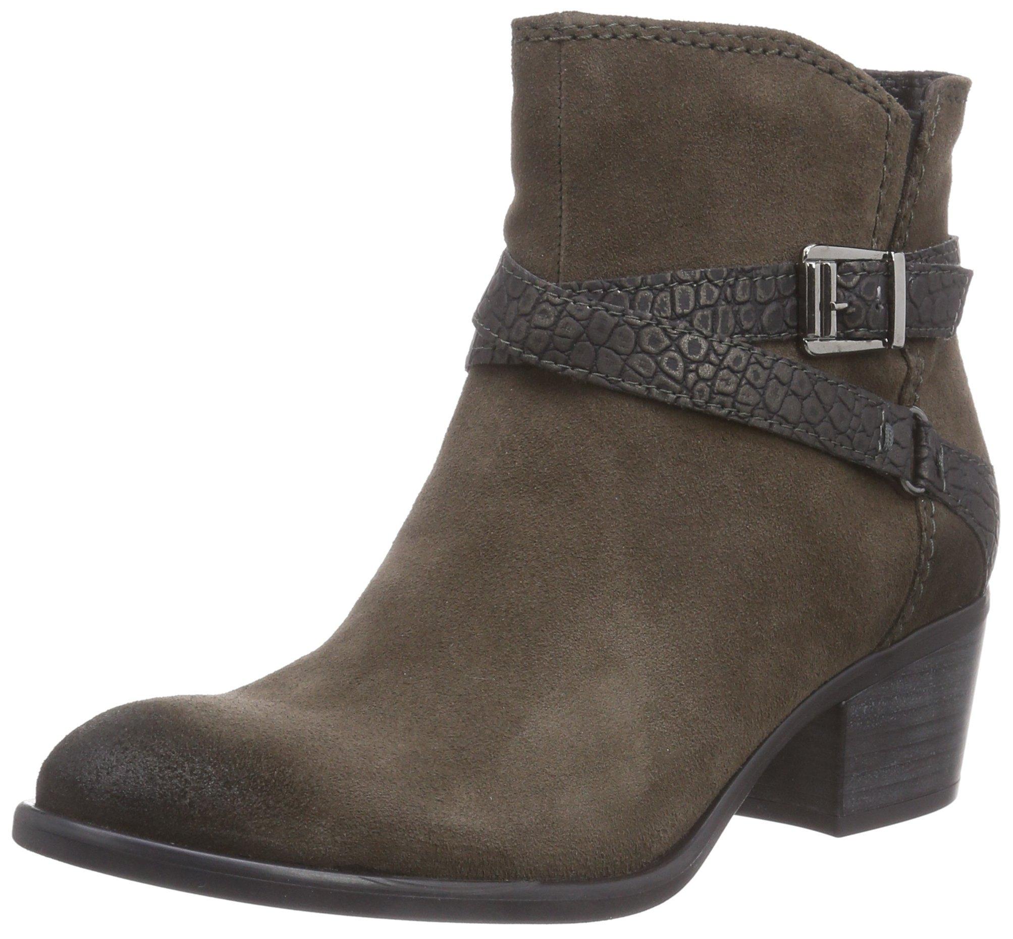 Tamaris Damen 25010 Kurzschaft Stiefel, Mehrfarbig (AsphSTR.Metal 232), 38 EU
