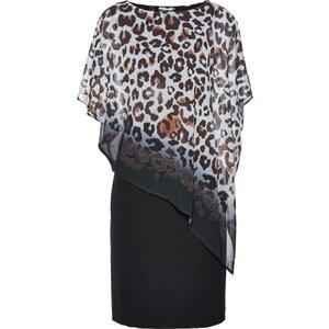 6932775f28c5 bpc selection Kleid mit Leodruck/Sommerkleid in weiß von bonprix ...