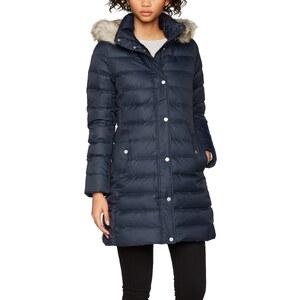 Tommy Hilfiger Damen Mantel TYRA Coat, Blau (Midnight 403