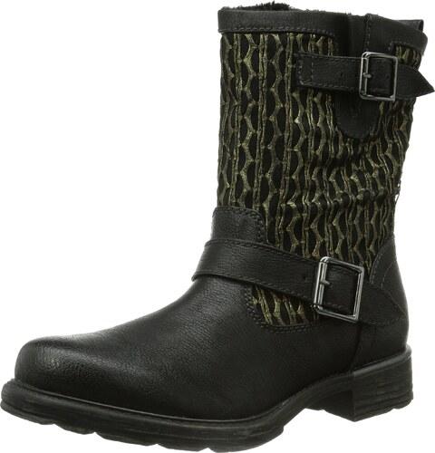 Geox Damen D Phaolae A Biker Boots Schwarz (Black C9999