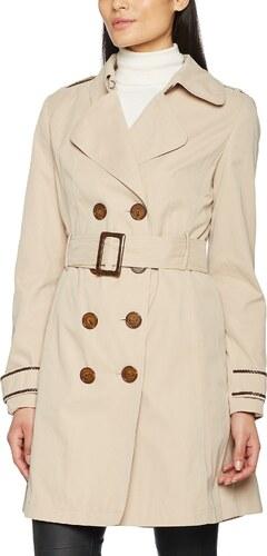 competitive price b33b7 1cabb Naf Naf Damen Trenchcoat Mantel, BEBISA V1 , Gr. 38 , beige ...