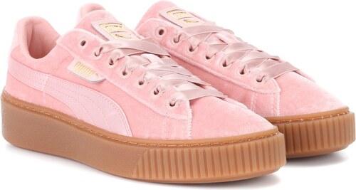 Basket Samt Sneakers Puma Platform Aus rBWQxdCoe