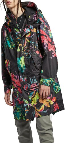 Kapuzenjacke Nike M NSW NSP PARKA AOP ar1598 389 Größe L