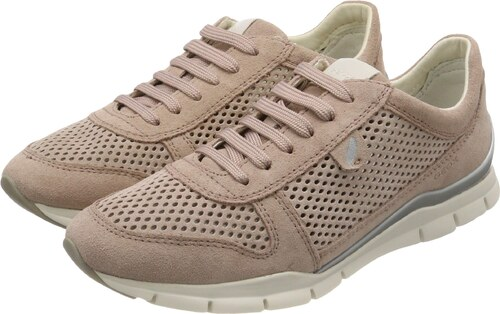 Geox D Nebula G, Damen Low Top Sneakers, Braun (Lt Taupe