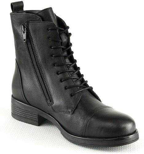 Leder 39 In Manoukian SchwarzGröße Shoes Stiefeletten R354jLAq