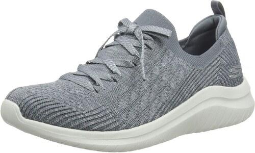 Skechers Damen Ultra Flex 2.0 Flash Illusion Sneaker, (Gray