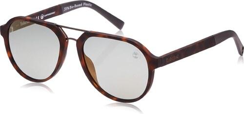Timberland Herren TB9142 Sonnenbrille, Braun (Blonde Havana
