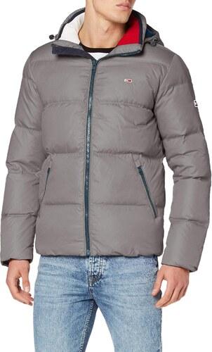 Tommy Hilfiger Herren TJM Essential DOWN Jacket Jacke, Grau