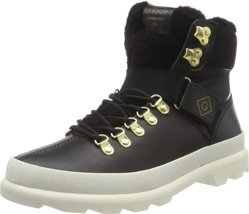 GANT Footwear Damen Westport Stiefeletten, Schwarz (Black