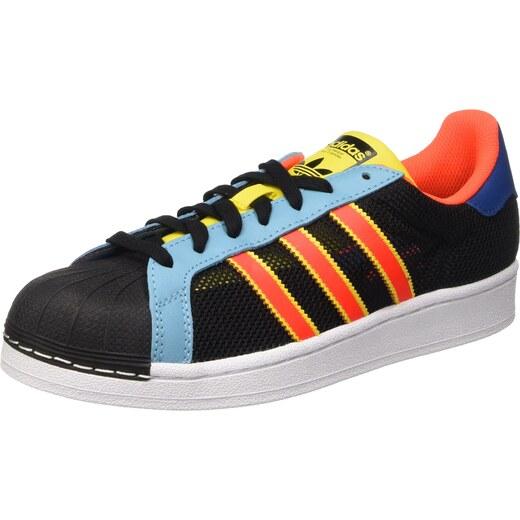 adidas Damen Superstar W Sneaker, Grau (Clonix Ftwwht), 36 2