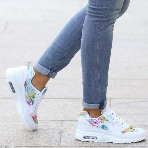 neueste Kollektion konkurrenzfähiger Preis bester Platz Lesara Sneaker mit Tropendruck - 35 - Glami.de