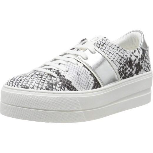 Tamaris Damen Sneaker 23771 white comb (weiß)
