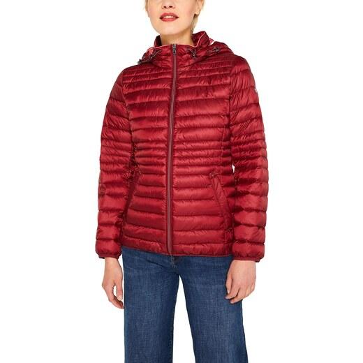ESPRIT Damen 079Ee1G001 Jacke, Rot (Dark Red 610), Small (Herstellergröße: S)