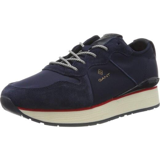 GANT FOOTWEAR LINDA, Damen Sneaker, Blau (marine G69), 41 EU (7 UK)